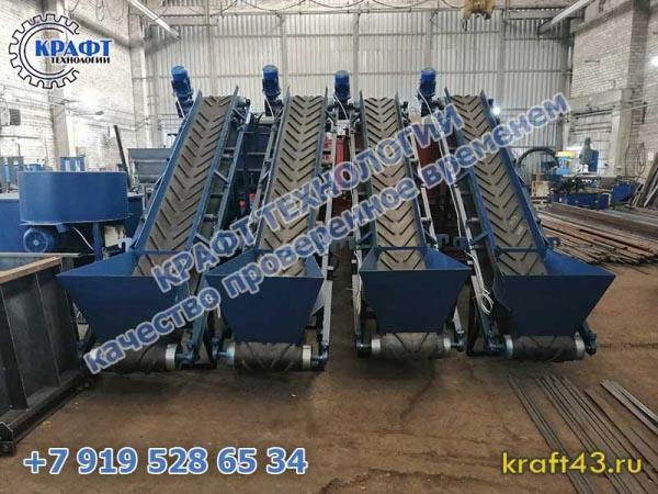 Ленточные транспортеры / конвейеры