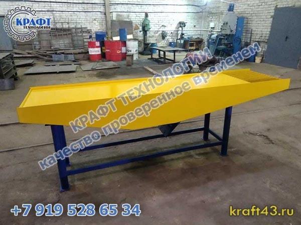 Оборудование для производства брусчатки и тротуарной плитки