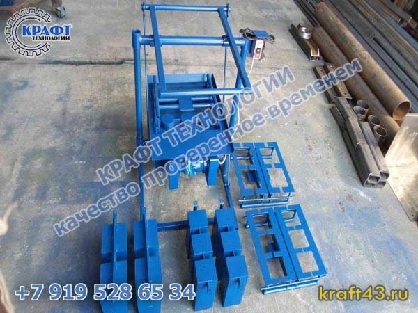 РМУ (станок для производства керамзитных блоков)
