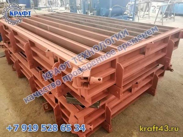 Металлоформа БР 1000х300х150 (10)