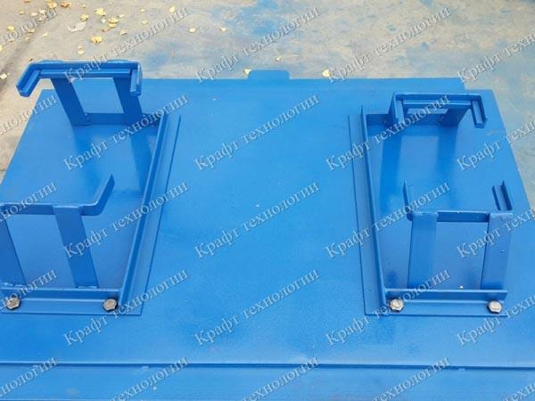 Вибростол расформовочный для производства брусчатки / тротуарной плитки