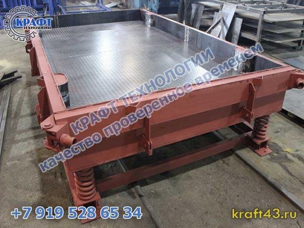 Металлоформы для производства дорожных плит ПД, ПДН