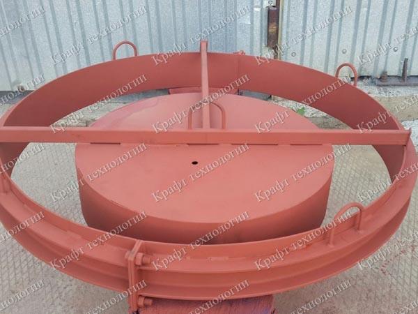 Металлоформы для производства колодезных колец