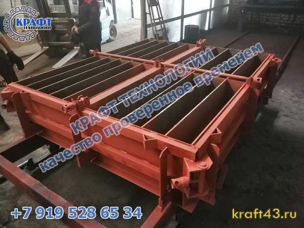 Металлоформы для производства бордюров, поребриков