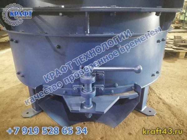 Планетарный бетоносмеситель ПБ-375
