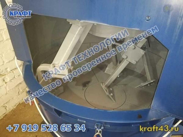 Планетарный бетоносмеситель ПБ-565