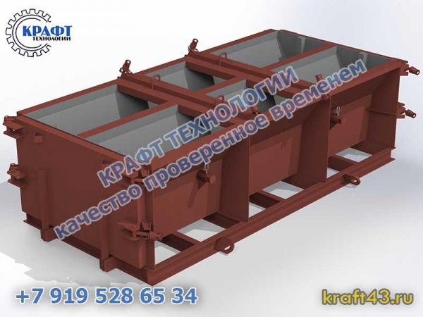 Металлоформа барьер NA 3 (2 изделия)