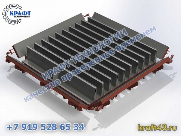 Металлоформа БР 1000х300х150 (20)