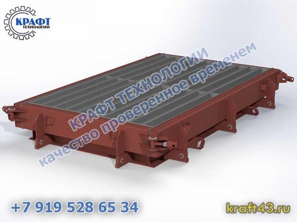Металлоформа БР 1000х200х80 (20)