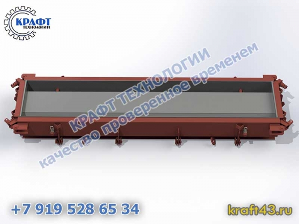 Металлоформа лоток ЛК 300.60.30 (1 изделие)