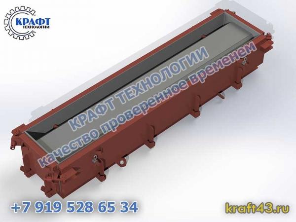 Металлоформа лоток ЛК 300.60.45 (1 изделие)