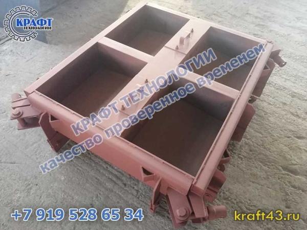 Металлоформа Блок бетонный Б-2-20-40 (4)
